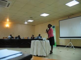 Field Facilitator from W2W in Uganda