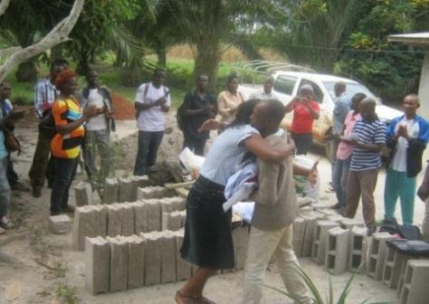 Beaucoup de joie et de satisfaction à Akonolinga