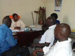 LEU delegation at Douala 2 council