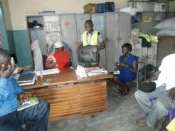 LEU delegation at Douala 3 council